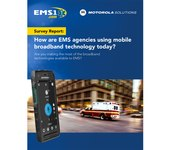 Survey report: How are EMS agencies using mobile broadband technology today? (white paper)