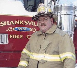 Shanksville Fire Chief Terry Shaffer.