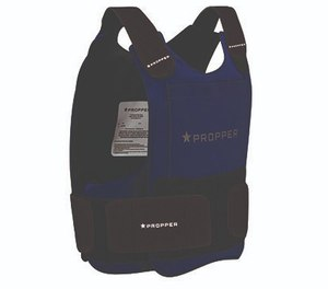 Propper's four-panel vest (4PV) includes a rectangular chest piece and a rectangular back piece, plus two completely separate ballistic material panels to cover your sides. The four-panel system provides a snug fit and allows for great range of movement without binding or pinching. (image/Propper)