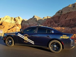 Nevada Highway Patrol covers some of the most remote stretches of highways in the U.S.