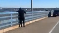 Video: Off-duty NJ correctional police officer saves man from jumping off bridge