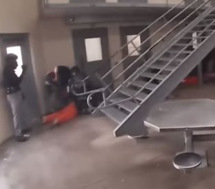 Video review: Jail riot response training