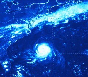 An increase in water temperature may result in hurricanes developing earlier than usual along the eastern seaboard.
