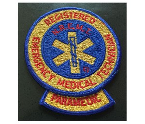 NREMT Paramedic patch