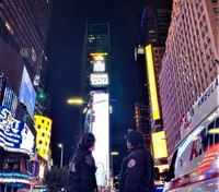 Photo of the Week: Message of thanks shines through Times Square