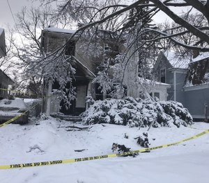As reported in Near Miss #1, a smoke explosion at a two-story single-family home caused an officer to suffer smoke inhalation and a rescue crew to be thrown down a set of stairs.