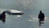 Pa. officers dive into river to save man in sinking car