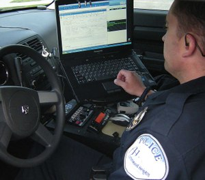 Nuance's Dragon Law Enforcement can help police officers avoid making errors in reports. (image/Nuance)