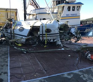 A new NTSB report on a fatal air ambulance crash in Alaska in 2019 states that three out of the aircraft's five seats were recovered with the safety restraints unbuckled.