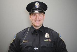 Wayne State University (WSU) Police K9 Officer Thomas Box