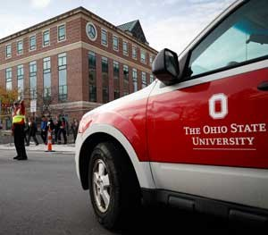The scene of the attack on the Ohio State University campus had barely been locked down when the name of the officer involved in killing the attacker had been released to the press and the public.