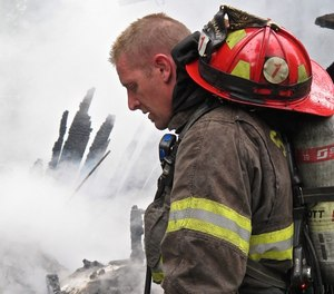 Firefighters face many job-related stresses that others outside the industry may not fully understand. (Photo/John Odegard)