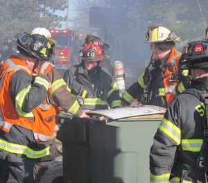 The fire chief has to establish their Commander's Intent (CI), or ultimate goal, and communicate this to their direct subordinates. Once they understand the Commander's Intent, they can align their behaviors to accomplish this while creating the Commander's Intent for their particular division. (Photo/John Odegard)