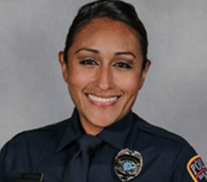 Officer Claudia Cormier (Photo/ San Marcos Police Department)