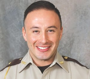 Pictured is Officer Jamie Morales. (Scott County Sheriff's Office via AP)