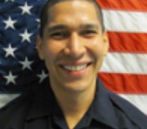 Officer Jonathan Aledda. (North Miami Police Dept. via AP)