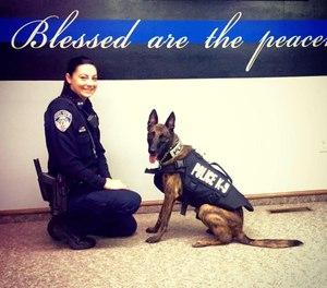 Officer Sierra Fox (Photo/ West Union Police Department via Facebook)
