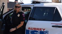 My police career started with a ride-along