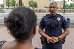 """""""The biggest thing that can influence morale is the satisfaction that you have in your job,"""" said Chief Jennings."""