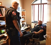 Balancing 'police supervisor' and 'cop buddy' roles
