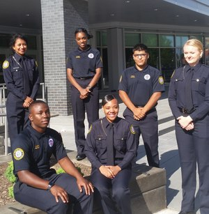 The OCPD Cadet Program focuses on mentoring inner-city youth who aspire to have a career in law enforcement.
