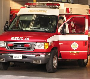 Orange County, Calif., health officials say that ambulances with patients are