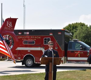 The city's current ambulance service, MedStar, will continue providing services on a backup basis.