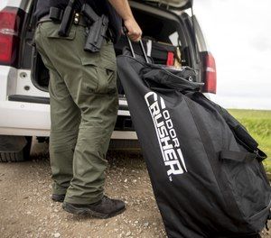 Through the power of ozone, this gear bag takes the stink out.