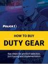 How to buy duty gear (eBook)