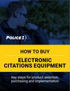How to buy electronic citations equipment (eBook)