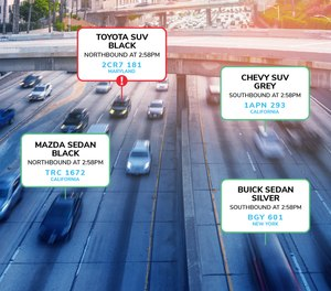 Rekor Scout software can upgrade existing traffic/security cameras into vehicle recognition solutions that support real-time alerting and lead generation.