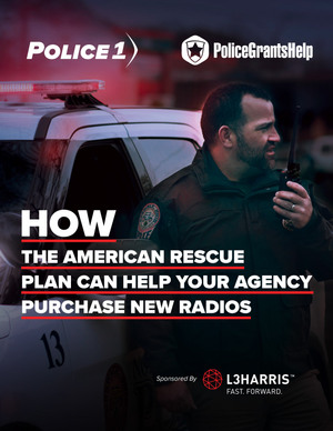 Download the eBook tolearn how American Rescue Plan funds can help your agency purchase new radios.
