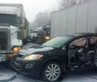 2 deaths after snow squall causes pileup on Pa. interstate