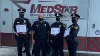 MedStar crews awardTexas LEOsfor saving 2 shooting victims