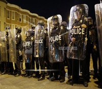 Baltimore police union asks for emails, texts to investigate officer injuries after riots