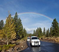 Photo of the Week: Patrolling under the rainbow