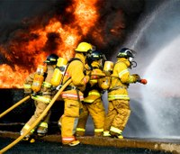 Report: Firefighters may shun gear to maintain risk-taker image