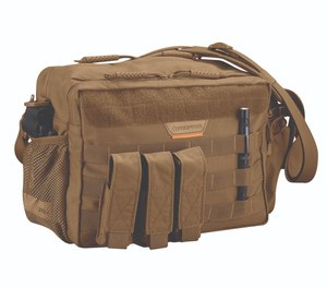 The Propper Bail Out Bag has one main compartment, two side zippered pockets and a mesh pocket to help you organize critical supplies for grab-and-go response.
