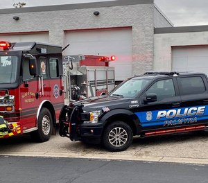 The Palmyra Public Safety Department has 6.5 positions, all of them cross-trained as police, firefighters and EMS providers.