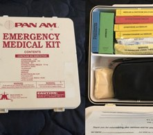 Legacy Emergency Medical Kit prior to the 1998 Aviation Medical Assistance Act