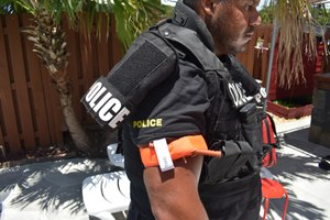 There are two items on your uniform that can save your life, your pistol and your tourniquet.