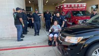 Dallas FF badly burned in explosion released from hospital