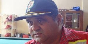 Fire Chief Washington Espinoza (Photo: Rick Markley).