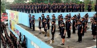Philippine fire service in officer promotion scandal
