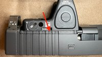 Properly mounting red dot sights