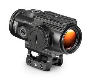The 5X SPITFIRE HD Gen II has a mount for a micro red dot on top of the optic. (Image/Vortex Optics)