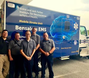 Bensalem Rescue Squad transports close to 3,500 patients a year to Jefferson Health's Torresdale campus in Philadelphia. (Photo/Courtesy of Jefferson Health)