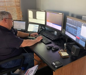Arlington's remote call-taking program is now deployed in 12 locations with 16 dispatchers who are capable of taking calls remotely. (Photo/Arlington County Emergency Communications Center)