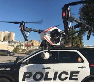 Daytona Beach Shores Dept. of Public Safety UAS, DJI Inspire 1. (Photo/Michael Uleski)