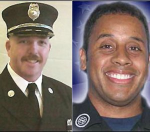 """Buffalo (N.Y.) Fire Department (BFD) Lieutenant Charles """"Chip"""" McCarthy and Firefighter Jonathan Croom were killed while operating at amixed commercial/residential structure fire at 1815 Genesee St., where there werereports of civilians trapped."""